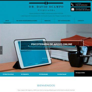 diseño de pagina web doctor