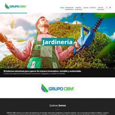 ejemplo diseño web completo