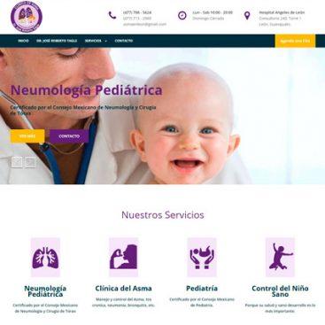 ejemplo pagina web